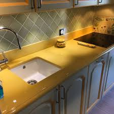 lave cuisine cuisine en de lave émaillée couleur vanille à antibes