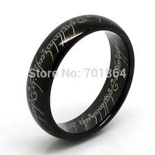 black silver rings images High quality size 5 13 gold black silver color tungsten jpg
