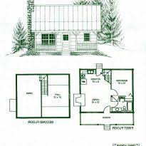 One Bedroom House Plans With Loft Cabin Floor Plans Loft Crtable