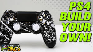 build your own playstation 4 custom controller controller