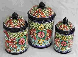 pottery kitchen canister sets 56 best talavera images on talavera pottery