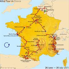 France Physical Map by Tour De France Map Recana Masana