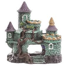 environments hobbit castle aquarium ornament fish tank