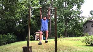 Diy Backyard Pull Up Bar by Why Build A Pull Up Bar In Your Back Yard Youtube