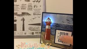 lighthouse light up card
