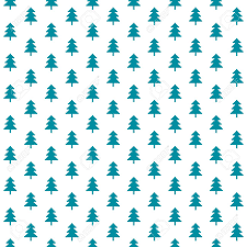 pixel wrapping paper vector winter pattern with pixel forest trees in