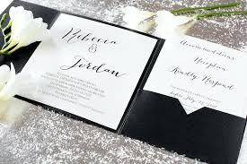 wedding invitation pocket envelopes davids bridal wedding invitations 9892 also classic wedding