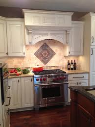Kitchens With Stone Backsplash Powell Ohio Kitchen Remodel Features A Tumbled Stone Backsplash