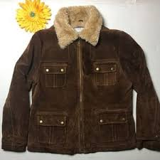 light brown leather jacket womens women s used leather jackets on poshmark