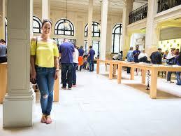 apple paris opera visit