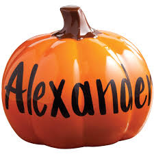spirit halloween paramus nj personalized ceramic pumpkin halloween home decor miles kimball