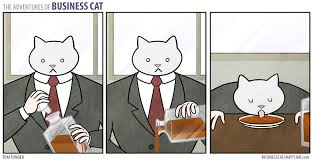 Cartoon Cat Memes - business cat by happyjar album on imgur