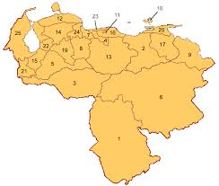 Venezuela Map Fungi Of Venezuela Guide To The Data