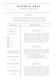 fashion resume templates resume template 3 page cv template by thetemplatedepot on