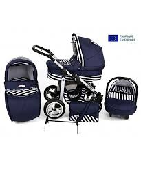 siege poussette poussette bleu ée combinée 3 en 1 avec siège cosy auto nacelle et