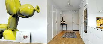 deco murale pour cuisine deco murale contemporaine papier peint original chien ballon