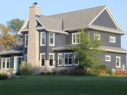 blue house white trim r k porter general contracting inc