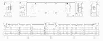 Stadium Floor Plans Kinnick Stadium Press Box Hawkeye Spaces