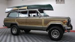 wagoneer jeep 2016 1987 jeep grand wagoneer for sale near denver colorado 80205