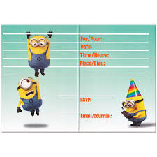 diy minion invitations despicable me birthday party invitations oxsvitation