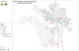 Virginia Capital Trail Map by State Of Richmond Bike Infrastructure And Proposed Projects Wtvr Com