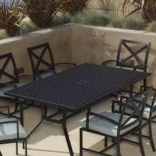 Rectangle Patio Table Sunset West La Jolla Rectangular Dining Table Reviews Wayfair
