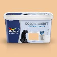 enduit cuisine lessivable peinture dulux color resist cuisine et salle de bain satin