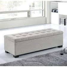 padded bench seat with storage amazing of leather storage bench