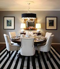 Black Dining Table White Chairs Rms Dining Room Room Gray Color And Thoughts