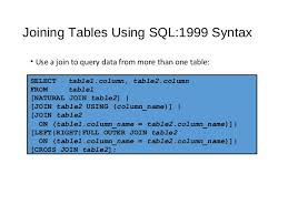 sql select from multiple tables displaying data from multiple tables
