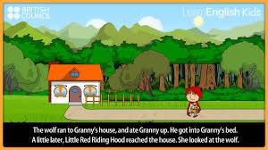 red riding hood kids stories learnenglish kids british