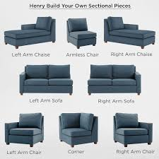 Sofa Couch Online Build Your Own Henry Sectional Pieces West Elm