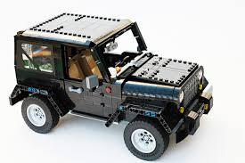 car jeep lego ideas jeep wrangler rubicon