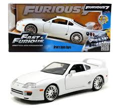 toyota supra fast and furious jada toys fast and furious 7 1 24 brian u0027s 1996 toyota supra
