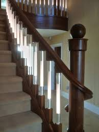 Illuminated Handrail Led Illuminated Spindles For Staircases