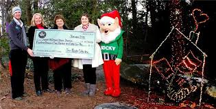 Rock City Garden Of Lights Ronald Mcdonald House Benefits From Rock City S Enchanted Garden
