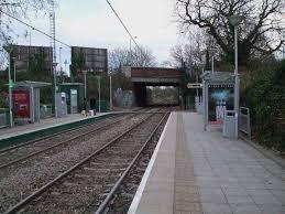 Morden Road tram stop