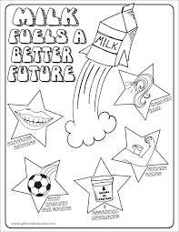 milk coloring pages fueling a better future my little soccer creative juice