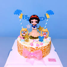 Online Shop Princess Cake Topper Snow White Alice Mermaid Figure