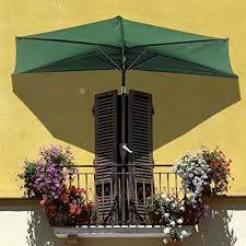 Patio Half Umbrella Yescom 10ft Green Outdoor Patio Half Umbrella Cafe