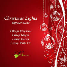 eve drop christmas lights christmas lights diffuser blend 3 drops bergamot 1 drop ginger 1