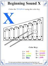 Letter Recognition Worksheets X Letter Worksheets