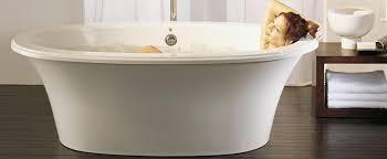 freestanding air jet tub for your bathroom bainultra sanos 6636