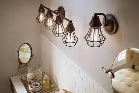 Kichler Vanity Lights Bayley 4 Light Vanity Light In Olde Bronze