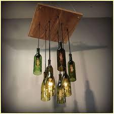 Wine Bottle Chandeliers Wine Bottle Chandelier Kit Design Decoration