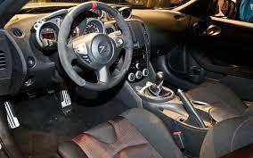 custom nissan 370z interior first look 2014 nissan 370z nismo 2013 chicago auto show