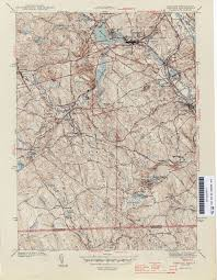 Franklin Ma Map Rhode Island Historical Topographic Maps Perry Castañeda Map