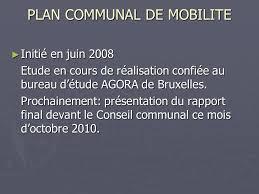 bureau d étude mobilité bouillon commune située en province de luxembourg ppt