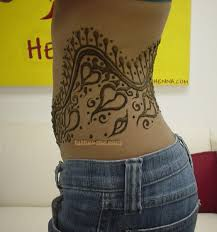belly henna tattoo me
