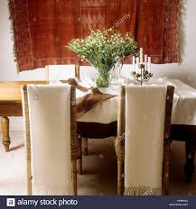 a bohemian style dining room stock photo royalty free image